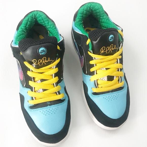 866bb51b4e0f Nike SB Zoom Air P-Rod 2 Paul Rodriguez Sneakers 7.  M 5b72d47b5fef379f0e47d585